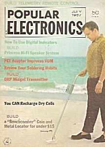 Popular Electronics -  July 1967 (Image1)