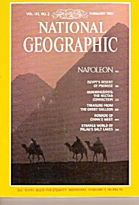 National  Geographic magazine - February 1982 (Image1)