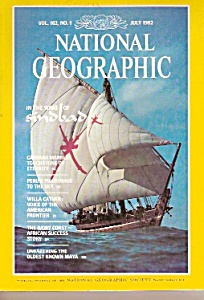 National Geographic magazine-  July 1982 (Image1)