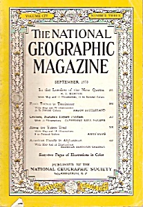 National Geographic Magazine - September 1953 (Image1)