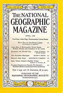 National Geographic magazine -   April 1959 (Image1)