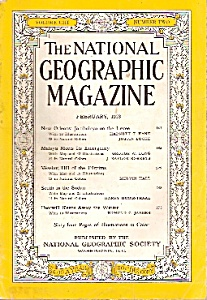 National Geographic magazine -  February 1953 (Image1)