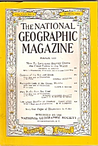 National Geographic magazine -  March 1959 (Image1)