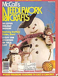 Mccall's Needlework & Crafts =december 1988