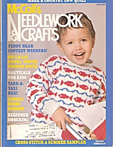 McCalls Needlework & Crafts -= June 1989 (Image1)
