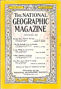 National Geographic Magazine- November 1954