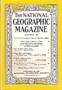 National Geographic magazine - December 1954 (Image1)
