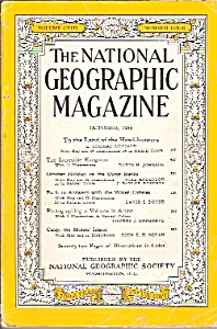 The National; Geographic Magazine - October 1955 (Image1)