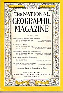 The National Geographic magazine - August 1950 (Image1)