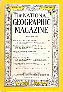 The National Geographic magazine - February 1954 (Image1)