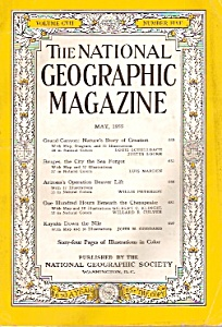 The National Geographic magazine - May 1955 (Image1)