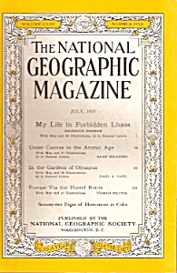 The National Geographic magazine - July 1955 (Image1)
