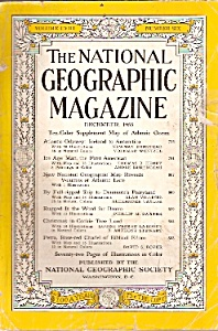 The National Geographic Magazine - December 1955