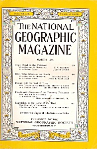 The National Geographic magazine -  March 1956 (Image1)