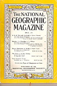The National Geographic magazine -  July 1956 (Image1)