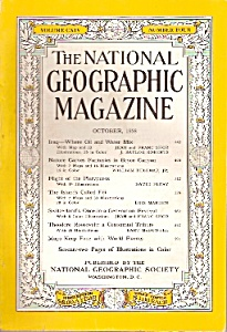 The National Geographic magazine- October 1958 (Image1)