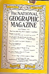 The National Geographic magazine -  November 1958 (Image1)