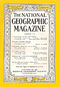 The National Geographic magazine -  August 1951 (Image1)
