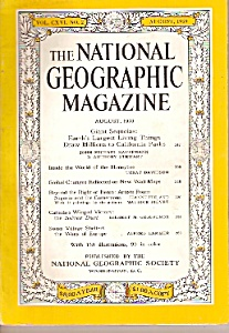 The National Geographic magazine    August 1959 (Image1)