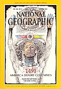National Geographic Magazine -= October 1991