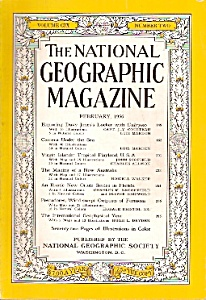 The National Geographic magazine =- February 1956 (Image1)