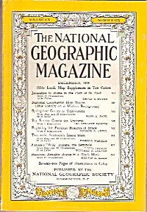 The National Geographic Magazine - December 1956