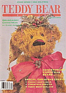 TEDDY BEAR REVIEW - Nov., Dec.  1991 (Image1)