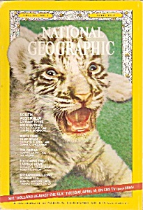 National Geographic magazine-  April 1970 (Image1)