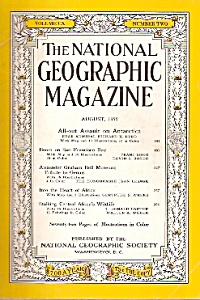 The National Geographic magazine -  August 1956 (Image1)