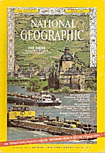 National geographic magazine -April 1967 (Image1)