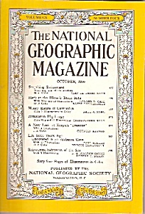 National Geographic magazine -October 1956 (Image1)