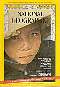 National geographic magazine =- February 1967 (Image1)