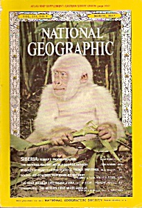 National Geographic magazine - March 1967 (Image1)