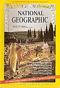 National Geographic magazine - December 1967 (Image1)