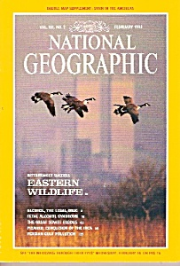 National Geographic magazine - February 1992 (Image1)