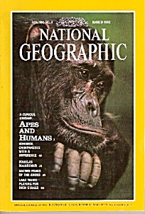 The National Geographic Magazine- March 1992