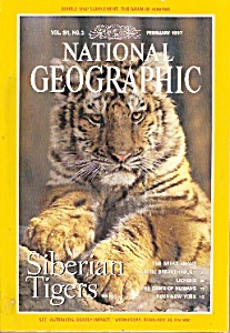 National Geographic Magazine- February 1997