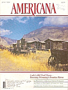 Americana magazine =-  June 1992 (Image1)