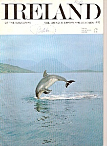 Ireland of the welcomes magazine - Sept., Oct. 1977 (Image1)