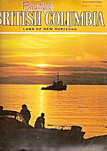 Beautiful BRITISH COLUMBIA  magazine- Fall 1975 (Image1)