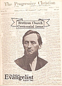 The Brethren Evangelist - August 1983