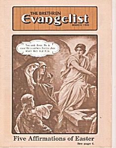 The Brethren Evangelist -  March 1986 (Image1)