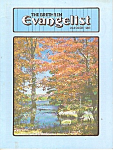 The Brethren Evangelist -  October 1988 (Image1)