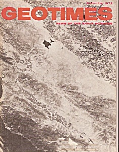 Geo Times magazine -August 1972 (Image1)