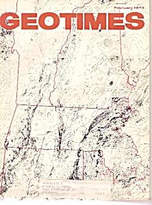 Geo Times magazine -  February 1973 (Image1)