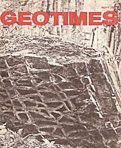 Geo Times magazines - April 1973 (Image1)
