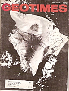 Geo times magazine - November 1973 (Image1)