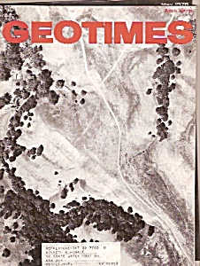 Geo Times magazine-April 1976 (Image1)