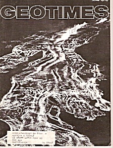 Geotimes Magazine=- June 1976