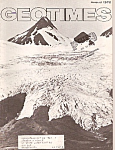 Geo Times magazine-  August 1976 (Image1)